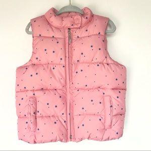 Gap kids puff vest girls 4T